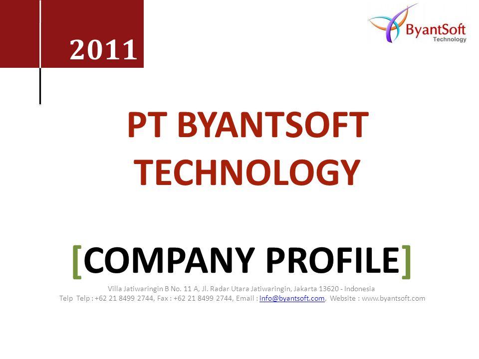 PT BYANTSOFT TECHNOLOGY [company profile]